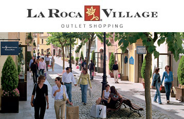 la roca chic outlet stores enjoy a shopping day with